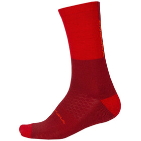 Endura BaaBaa Merino Winter Sock Single Men rust red